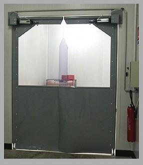 Porte double action souple - Devis sur Techni-Contact.com - 1