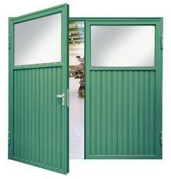 Porte double en acier - Devis sur Techni-Contact.com - 1
