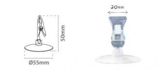 Porte étiquette avec pince - Devis sur Techni-Contact.com - 3