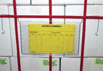 Porte-étiquettes avec accroche en fil - Devis sur Techni-Contact.com - 1