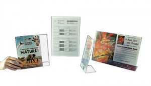 Porte-étiquettes en plexiglas - Devis sur Techni-Contact.com - 1