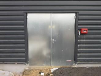 Porte évacuation industrielle - Devis sur Techni-Contact.com - 1