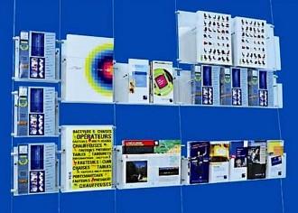 Porte flyers mural - Devis sur Techni-Contact.com - 1