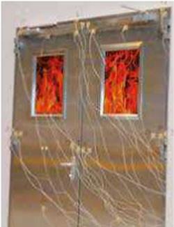 Porte industrielle coupe feu - Devis sur Techni-Contact.com - 1