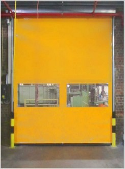 Porte industrielle intérieure - Devis sur Techni-Contact.com - 1