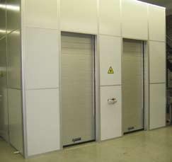 Porte industrielle pour protection machine 3000MP en aluminium - Devis sur Techni-Contact.com - 1