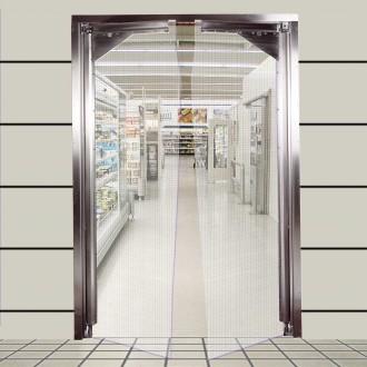 Porte isolante souple à vantaux - Devis sur Techni-Contact.com - 1