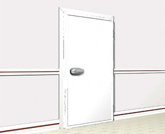 Porte isotherme pivotante - Devis sur Techni-Contact.com - 2