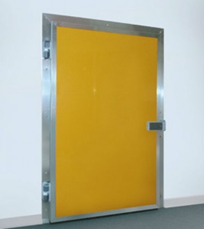 Porte isotherme pivotante pour chambres froides - Devis sur Techni-Contact.com - 1