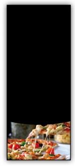 Porte menu ardoise pizzeria - Devis sur Techni-Contact.com - 1