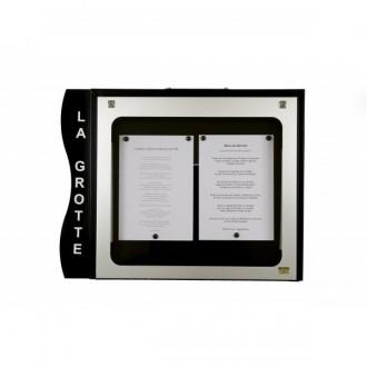 Porte menu cevennes 2 pages - Devis sur Techni-Contact.com - 1
