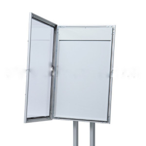 Porte menu double pied - Devis sur Techni-Contact.com - 3