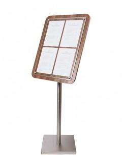 Porte menu en bois - Devis sur Techni-Contact.com - 1