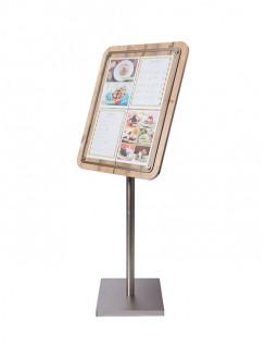 Porte menu en bois - Devis sur Techni-Contact.com - 3