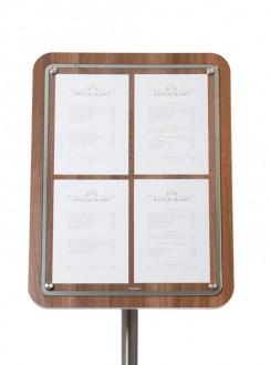 Porte menu en bois - Devis sur Techni-Contact.com - 4