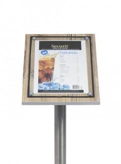 Porte menu en bois - Devis sur Techni-Contact.com - 5