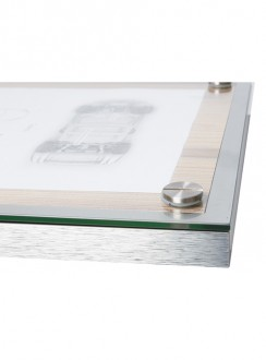 Porte menu en bois - Devis sur Techni-Contact.com - 9