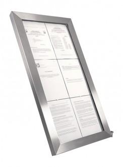 Porte menu en inox à affichage LED - Devis sur Techni-Contact.com - 1