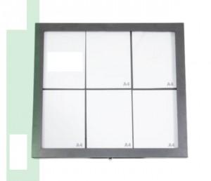 Porte menu extérieur affichage LED - Devis sur Techni-Contact.com - 2