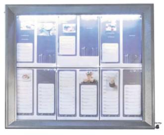 Porte menu extérieur affichage LED - Devis sur Techni-Contact.com - 4