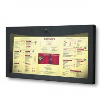 Porte menu extérieur restaurant - Devis sur Techni-Contact.com - 1
