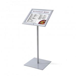 Porte menu incliné sur pied - Devis sur Techni-Contact.com - 1