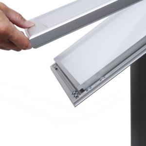 Porte menu incliné sur pied - Devis sur Techni-Contact.com - 4