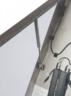 Porte menu LED 4 x A4 - Devis sur Techni-Contact.com - 8