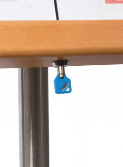 Porte menu LED 4 x A4 - Devis sur Techni-Contact.com - 9