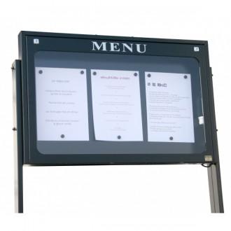 Porte menu lubéron - Devis sur Techni-Contact.com - 1