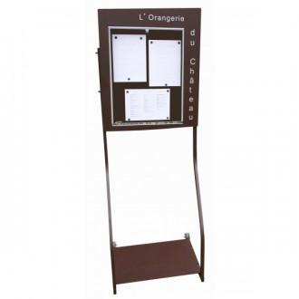 Porte menu sheffield 3 pages A4 - Devis sur Techni-Contact.com - 2