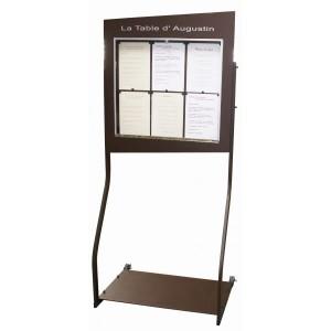 Porte menu sheffield 6 pages A4 - Devis sur Techni-Contact.com - 1