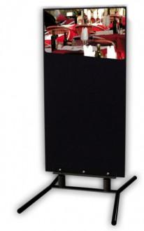 Porte menu sur pied à ressorts 67 x 97 cm - Devis sur Techni-Contact.com - 1