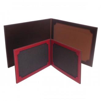 Porte photos pliable à poser en cuir - Devis sur Techni-Contact.com - 2