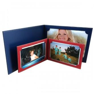 Porte photos pliable à poser en cuir - Devis sur Techni-Contact.com - 3