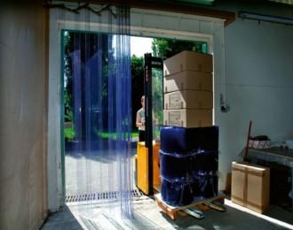 Porte pvc souple à lanières ignifuge - Devis sur Techni-Contact.com - 1