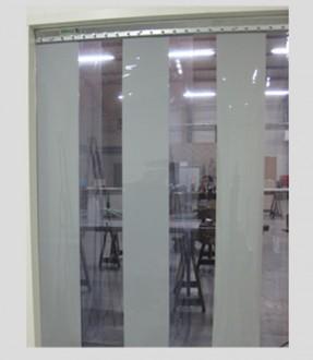 Porte souple à lanières transparentes - Devis sur Techni-Contact.com - 1