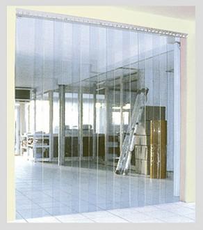 Porte souple à lanières transparentes - Devis sur Techni-Contact.com - 2