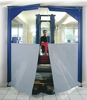Porte souple à vantaux pvc - Devis sur Techni-Contact.com - 3
