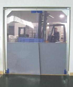 Porte souple et transparente à vantaux pvc - Devis sur Techni-Contact.com - 3
