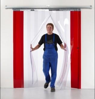 Porte souple industrielle PVC - Devis sur Techni-Contact.com - 1