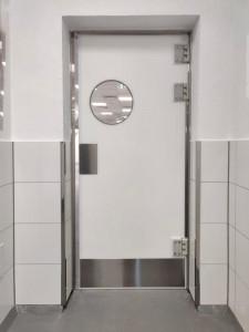 Porte va et vienten polyéthylène - Devis sur Techni-Contact.com - 1