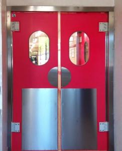 Porte va et vienten polyéthylène - Devis sur Techni-Contact.com - 2