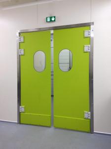 Porte va et vienten polyéthylène - Devis sur Techni-Contact.com - 5