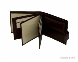 Portefeuille avec languette en cuir marron - Devis sur Techni-Contact.com - 2