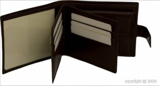 Portefeuille cuir avec languette pour homme - Devis sur Techni-Contact.com - 2