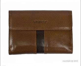 Portefeuille en cuir marron femme - Devis sur Techni-Contact.com - 1