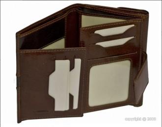 Portefeuille en cuir marron femme - Devis sur Techni-Contact.com - 2