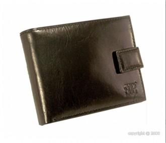 Portefeuille homme cuir noir avec languette - Devis sur Techni-Contact.com - 1