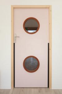 Portes de crèche avec oculus - Devis sur Techni-Contact.com - 7